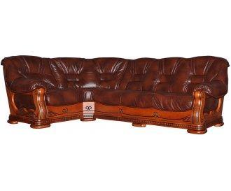 Кожаный угловой диван Ричард