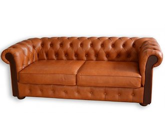 Кожаный диван Сан Ремо