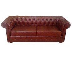 Кожаный двухместный диван Сан Ремо