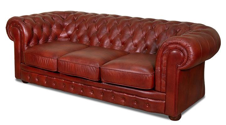 Кожаный диван Честер Классик - 6