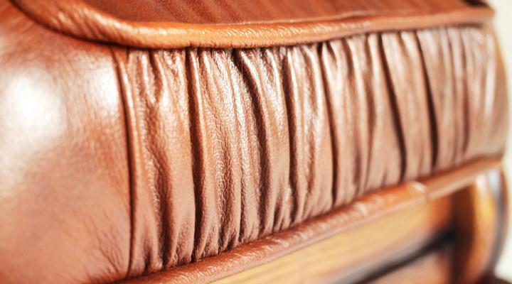 Кожаный угловой диван Гризли 298 - 10