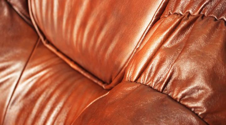 Кожаный угловой диван Гризли 298 - 11