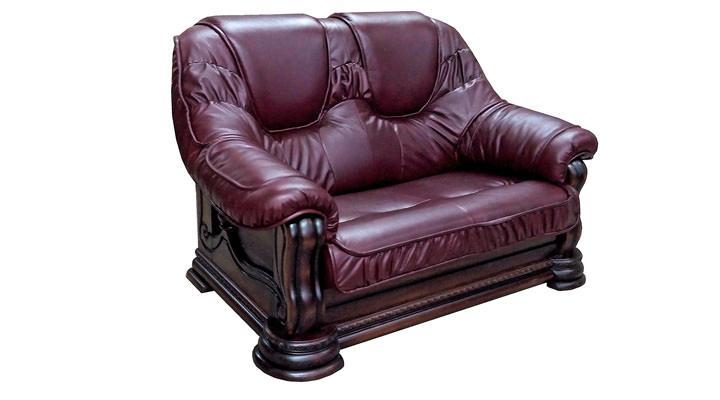 Кожаный двухместный диван Гризли - 5