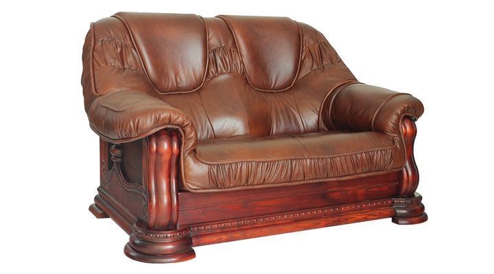 Кожаный двухместный диван Гризли - 2
