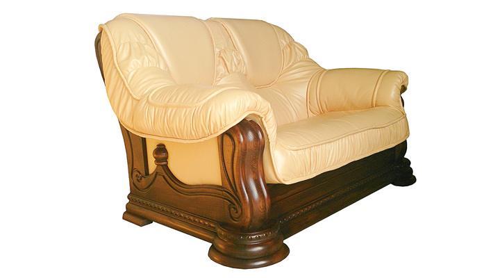 Кожаный двухместный диван Гризли - 3