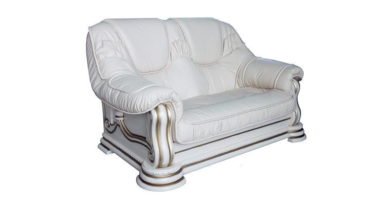 Кожаный двухместный диван Гризли - 4