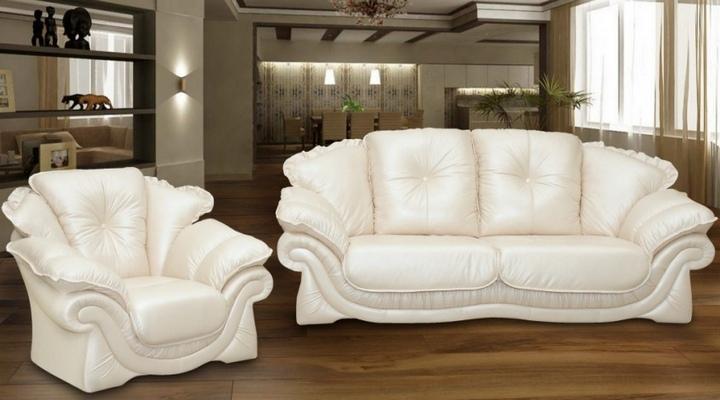 Кожаный двухместный диван Пэйтон - 2