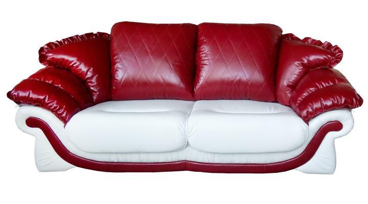 Кожаный двухместный диван Пэйтон - 5