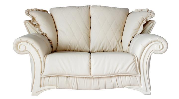 Кожаный двухместный диван Майфаер - 3