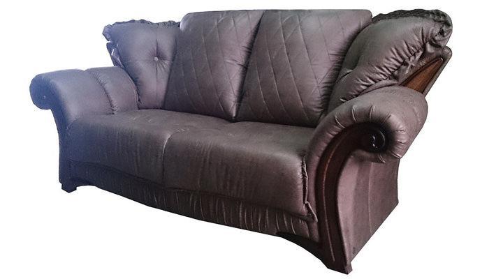 Кожаный двухместный диван Майфаер - 6