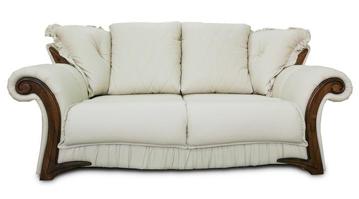 Кожаный диван Майфаер