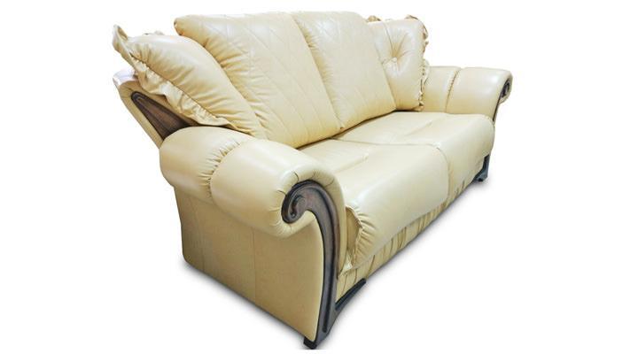 Кожаный двухместный диван Майфаер - 7
