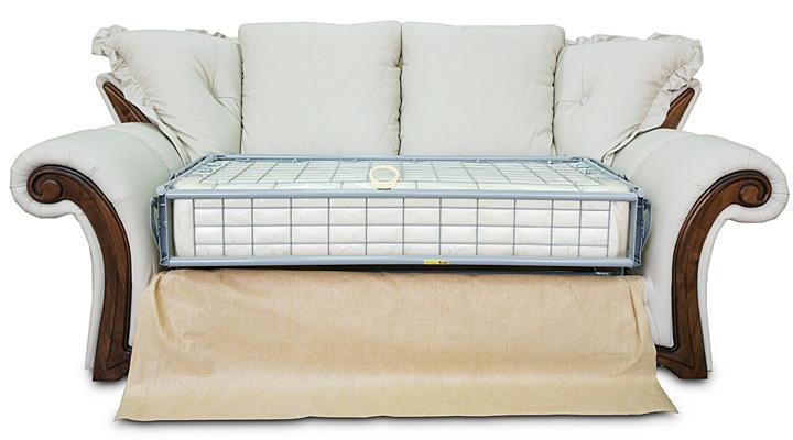 Кожаный двухместный диван Майфаер - 9