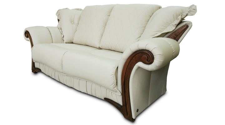 Кожаный двухместный диван Майфаер - 8