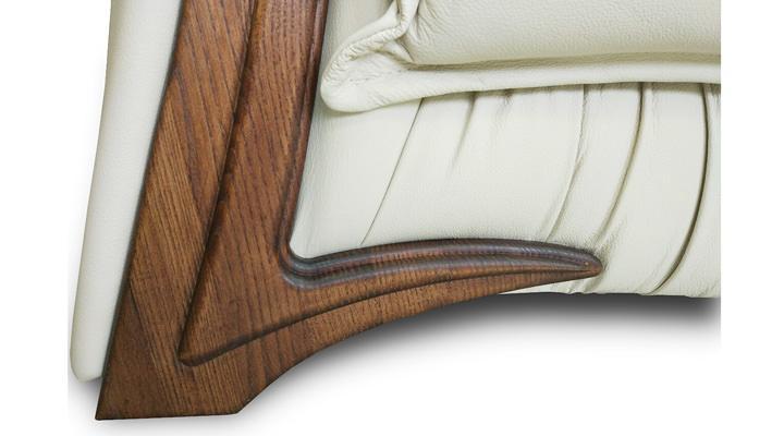 Кожаный двухместный диван Майфаер - 10
