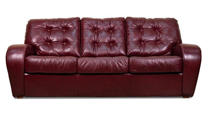 Кожаный диван Винс