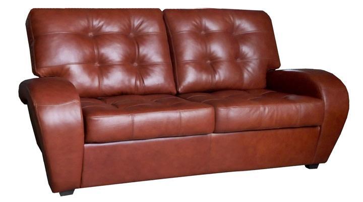 Кожаный двухместный диван Винс - 2