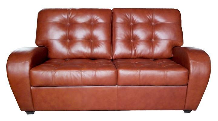Кожаный двухместный диван Винс