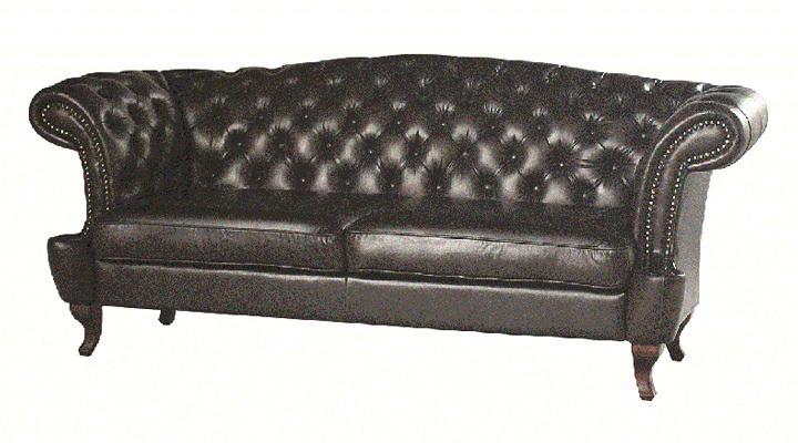 Кожаный диван Честер Глост - 6