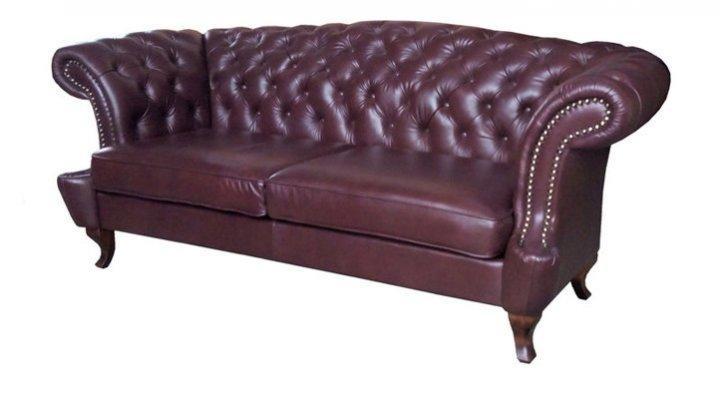 Кожаный диван Честер Глост - 9