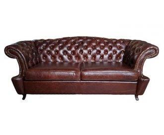 Кожаный диван Честер Глост