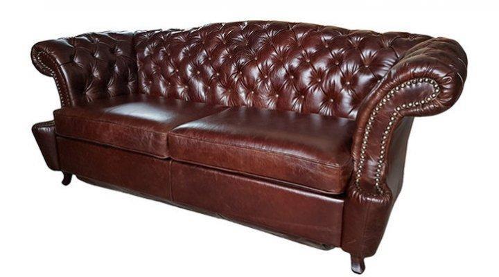 Кожаный диван Честер Глост - 10
