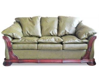 Кожаный диван Грег
