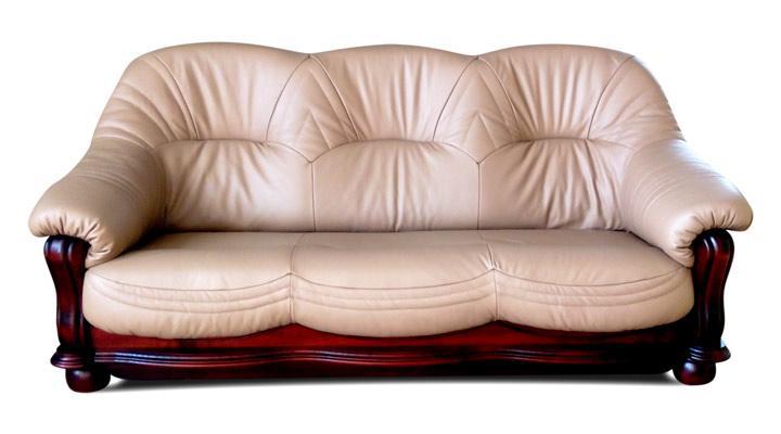 Кожаный диван Диаз