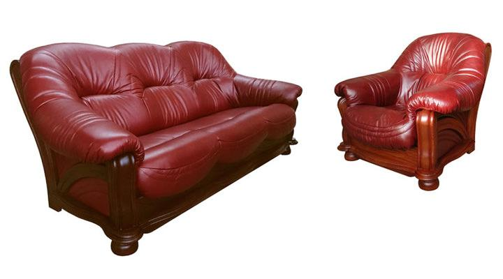 Кожаный двухместный диван Хаммер - 3