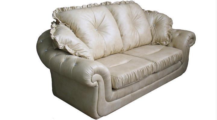 Кожаный двухместный диван Изадора - 2