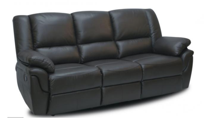 Кожаный диван реклайнер Alabama (Алабама)