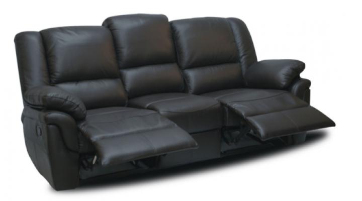 Кожаный диван реклайнер Alabama (Алабама) - 2