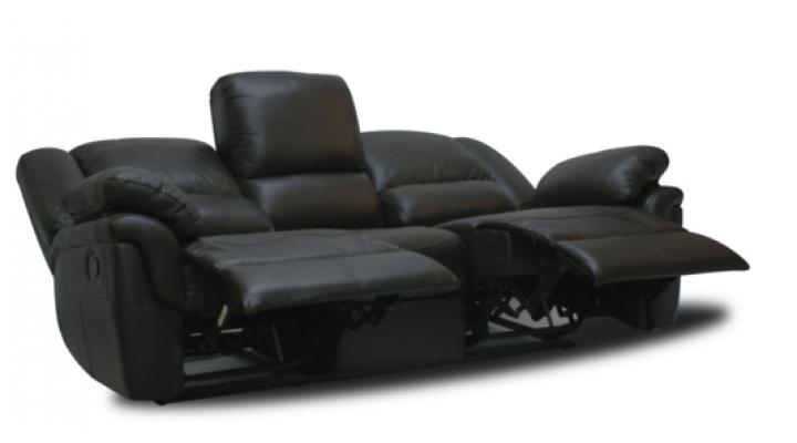 Кожаный диван реклайнер Alabama (Алабама) - 6