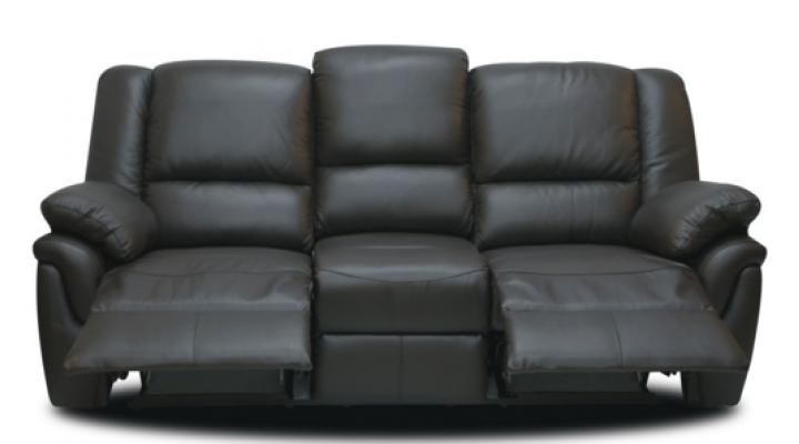 Кожаный диван реклайнер Alabama (Алабама) - 5