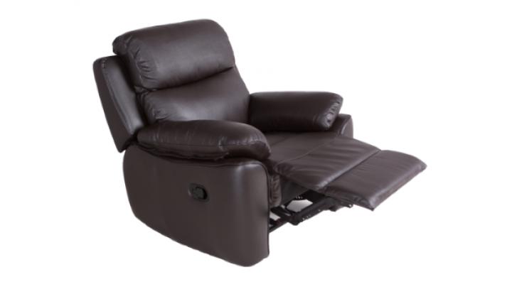 Кожаное кресло реклайнер Alabama Bis (Алабама Бис) - 2