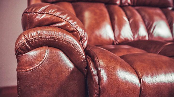 Кожаный диван реклайнер BOSTON (Бостон) - 8