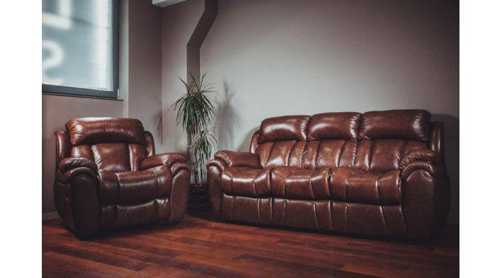 Кожаный диван реклайнер BOSTON (Бостон) - 10