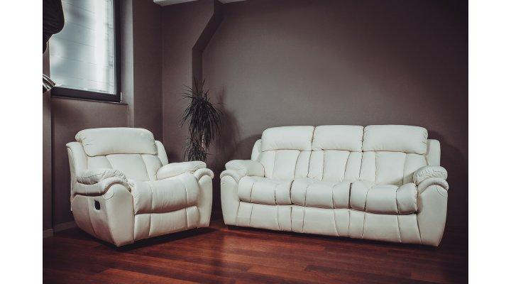 Кожаный диван реклайнер BOSTON (Бостон) - 9