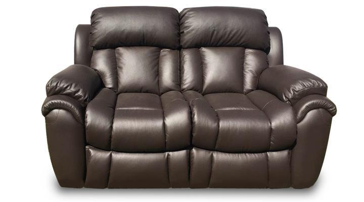 Кожаный двухместный диван Бостон