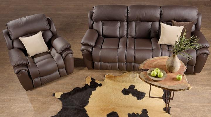 Кожаный диван реклайнер Бостон - 4