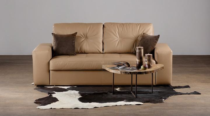 Кожаный диван Калифорния В1-214