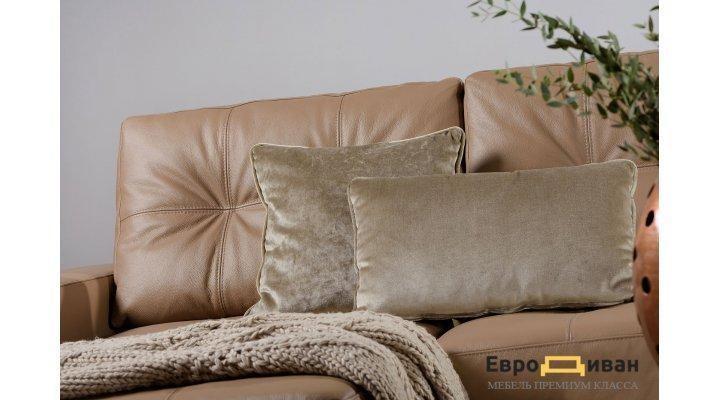 Кожаный угловой диван реклайнер Калифорния В1-286 - 3