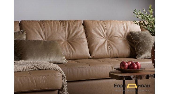 Кожаный модульный диван Калифорния мини В1-297 - 3