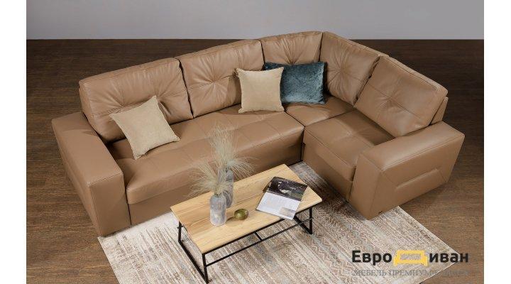 Кожаный угловой диван реклайнер Калифорния В1-286 - 7