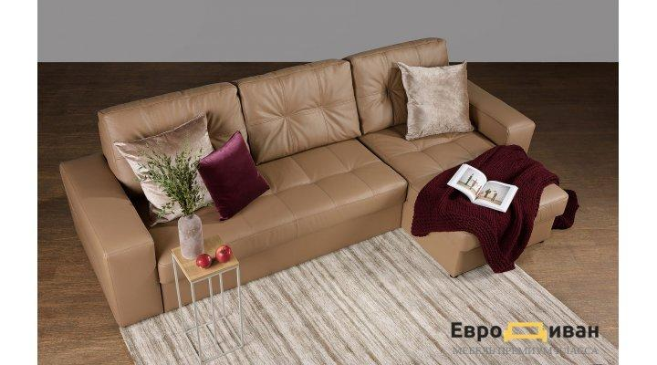 Кожаный угловой диван Калифорния В1-279 - 6