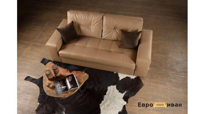 Кожаный двухместный диван Калифорния В1-180 - 2