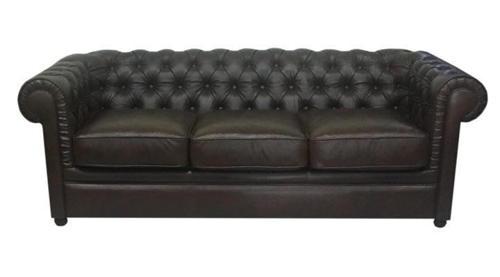 Кожаный диван Чикаго Честер