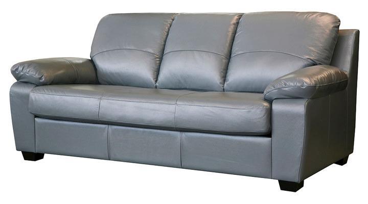 Кожаный диван Колорадо серый - 2