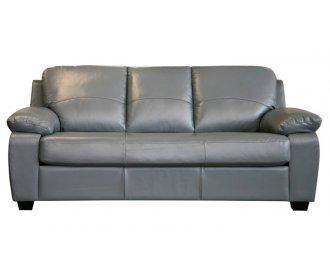 Кожаный диван Колорадо серый