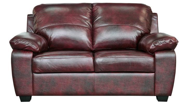 Кожаный двухместный диван Колорадо